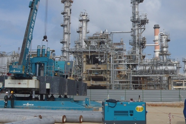 Hijau Gasoil Project at SHELL Refinery (Port Dickson)